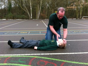 Lazarus Training schools first aid training materials covering airway management