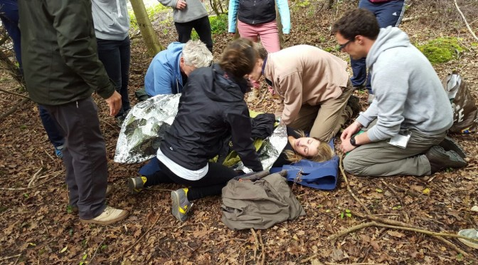Running a First Aid in Remote Locations course- insiders view- Day One