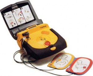 Lazarus training for automated external defibrillator