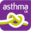 asthma uk logo on lazarus training website
