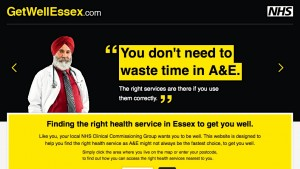 Screenshot of Get Well Essex Website
