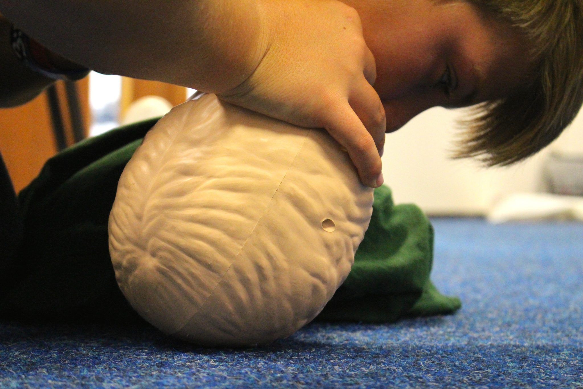 Teenaider first aid training skills