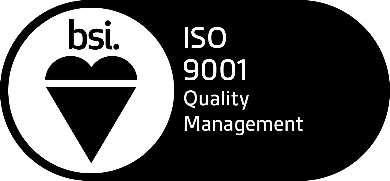 ISO 9001 approval of Lazarus Training by BSI