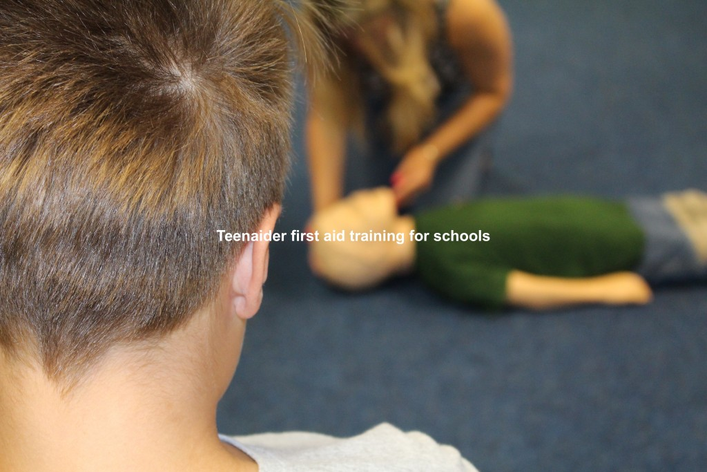 Teenaider first aid training