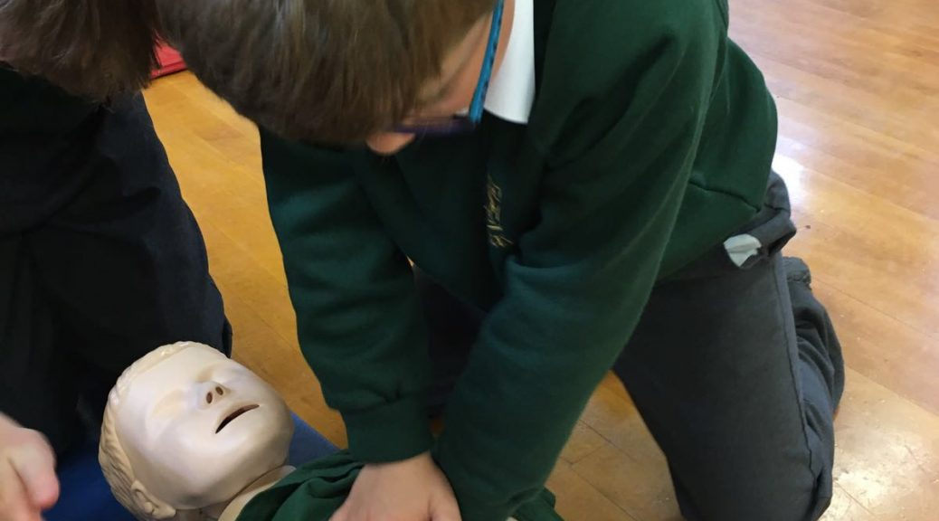 Schools first aid workshop