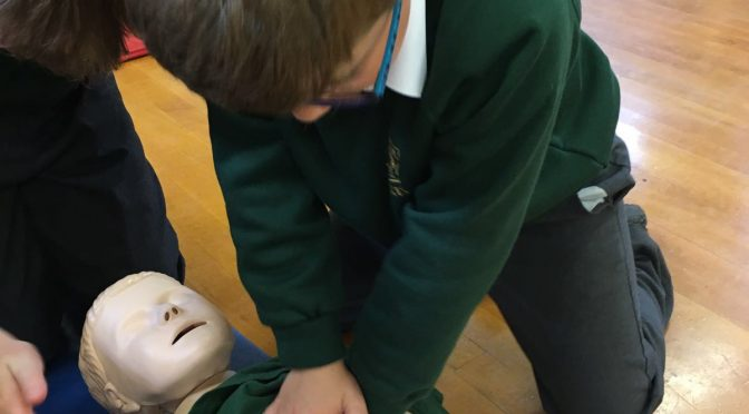 First aid training workshops for schools