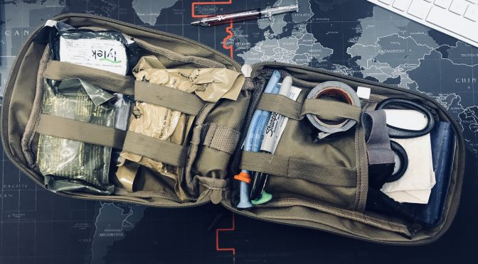 Contents of an Individual First Aid Kit – aid worker version