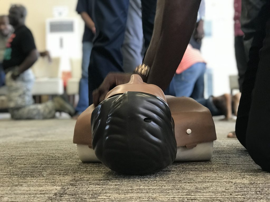 first aid training in nigeria