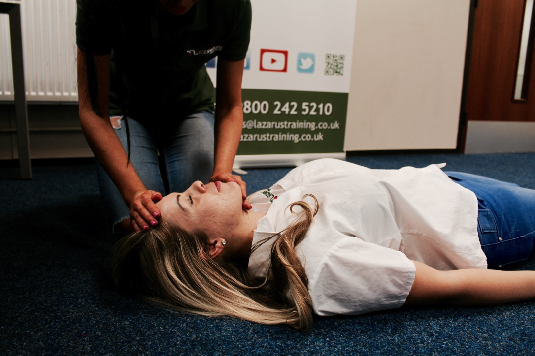 care sector first aid training